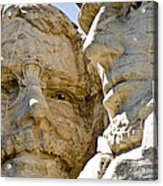 Roosevelt On Mt Rushmore National Monument Acrylic Print