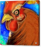 Roost King Acrylic Print by Melisa Meyers