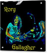 Rory And The Aliens Acrylic Print