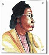 Rosa Parks Acrylic Print