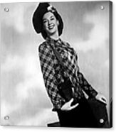 Rosalind Russell, Ca. Early 1940s Acrylic Print