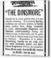 Rose Advertisement, 1890 Acrylic Print
