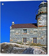 Rose Blanche Lighthouse Acrylic Print