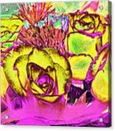 Rose Boquet Art Acrylic Print