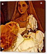 Rose Bride Acrylic Print