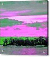 Rose Colore Scape Acrylic Print