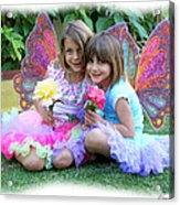 Rose Faeries Acrylic Print