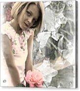 Rose Faery Acrylic Print