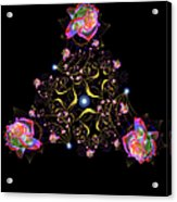 Rose Fractal Acrylic Print