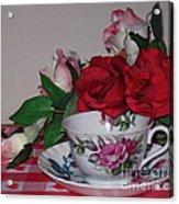 Rose Tea Acrylic Print