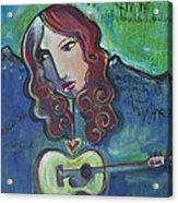 Roseanne Cash Acrylic Print