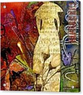 Rosebud The Angel Of Sweet Songs Acrylic Print