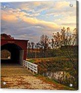 Roseman Bridge Acrylic Print