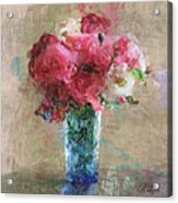 Roses For Mom Acrylic Print