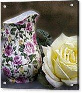Roses Speak Of Romance Acrylic Print