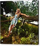 Rosey4 Acrylic Print
