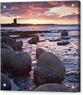 Roslee Castle, Easky, County Sligo Acrylic Print