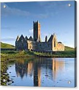 Rosserk Friary, Co Mayo, Ireland 15th Acrylic Print