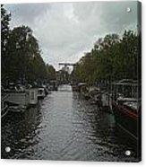 Rotterdam Canal Acrylic Print