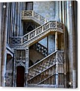 Rouen Cathedral Stairway Acrylic Print