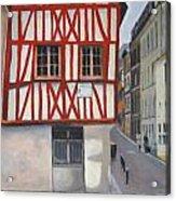 Rouen Street Corner Acrylic Print