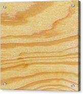 Rough Textured Plywood Grain Acrylic Print