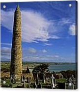 Round Tower, Ardmore, Co Waterford Acrylic Print