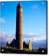 Round Tower Near Gort, Co Galway Acrylic Print