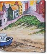 Roundstone Harbour  Acrylic Print by Siobhan Lawson