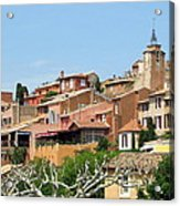 Roussillon In Provence Acrylic Print
