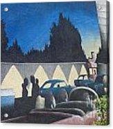 Route 66 Brandon Mural Acrylic Print