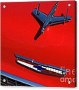 Route 66 Classic Cars 1 Acrylic Print