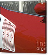 Route 66 Classic Cars 5 Acrylic Print
