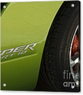 Route 66 Classic Cars 7 Acrylic Print