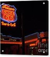 Route 66 Cruisers Acrylic Print