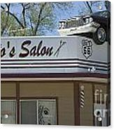 Route 66 Desotos Salon Acrylic Print