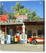 Route 66 Hackberry Arizona Acrylic Print