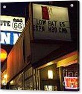 Route 66 Inn Acrylic Print