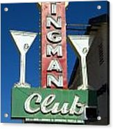 Route 66 Kingman Club Acrylic Print