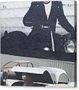 Route 66 Marlon Brando Mural Acrylic Print