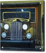 Route 66 Motel Mural Acrylic Print