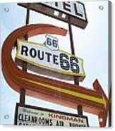 Route 66 Motel Sign 1 Acrylic Print