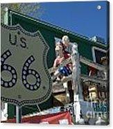 Route 66 Seligman Arizona Acrylic Print