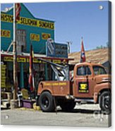 Route 66 The Real Mader Acrylic Print