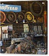 Route 66 Vintage Garage Acrylic Print