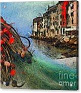 Rovinj The Ancient Adriatic City Acrylic Print