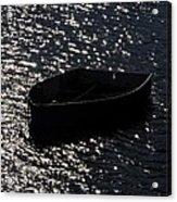 Row Boat In The Sun Acrylic Print