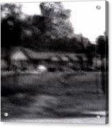 Row Houses- Monroe Louisiana Acrylic Print