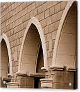 Row Of Arches Acrylic Print