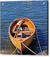 Rowboat Acrylic Print by Joana Kruse